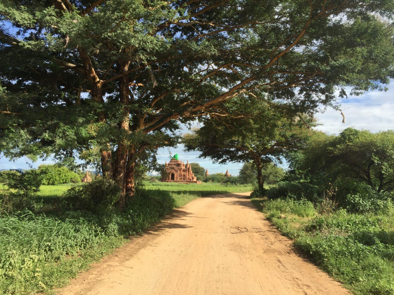 BikeTo仏教遺跡 ミャンマーライド map ride myanmar