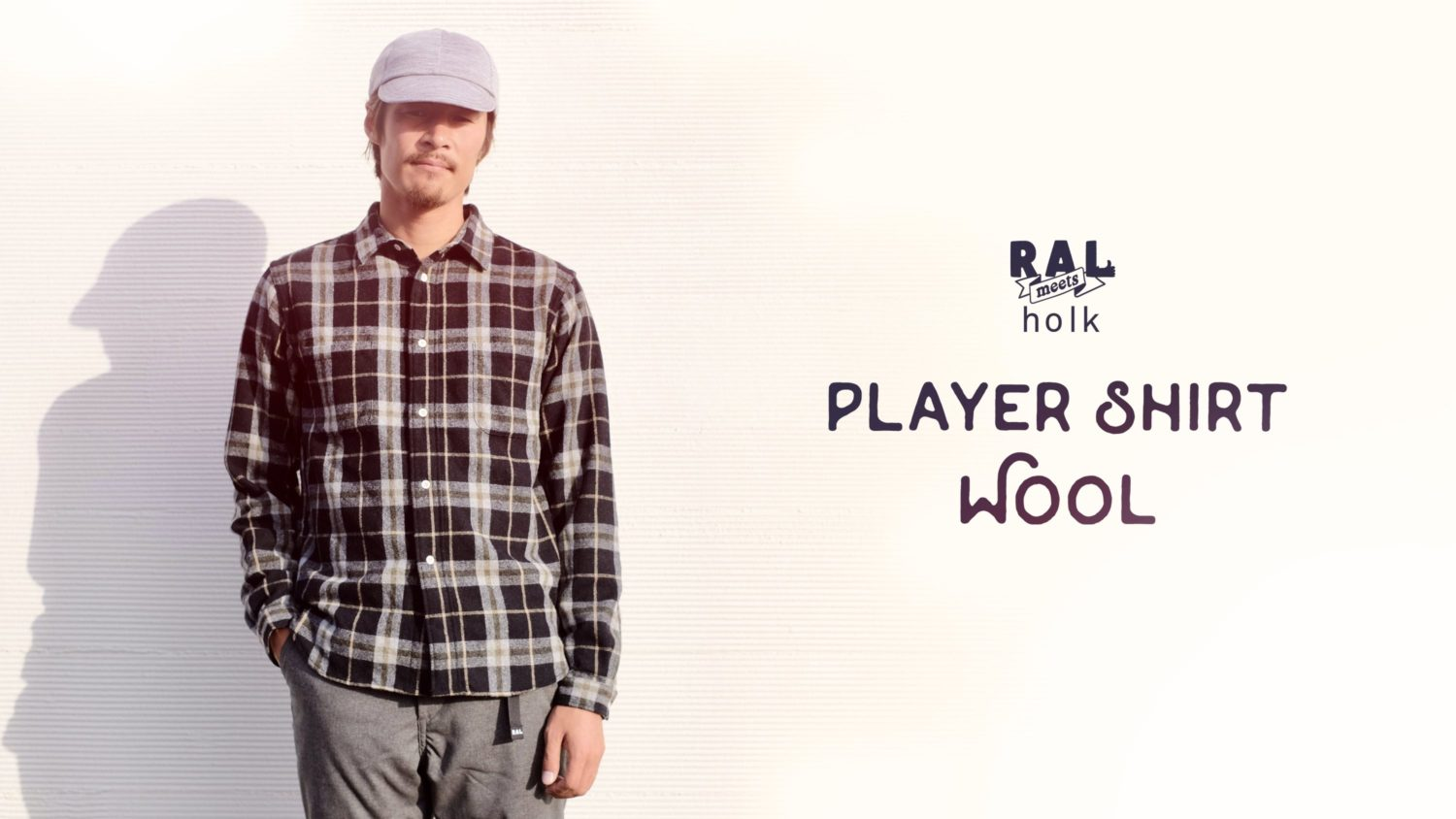 RAL meets holk / Player Shirt Wool