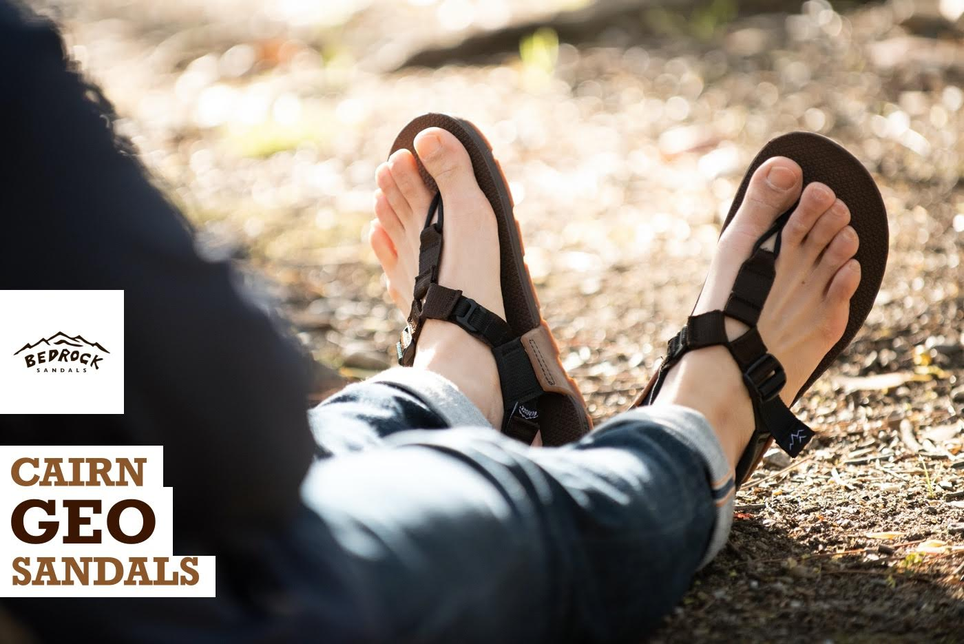 BEDROCK SANDALS Cairn Geo Sandals